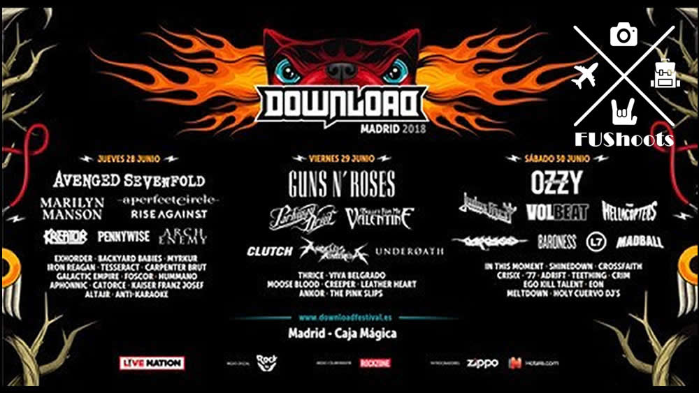 Reseña de Download Madrid 2018